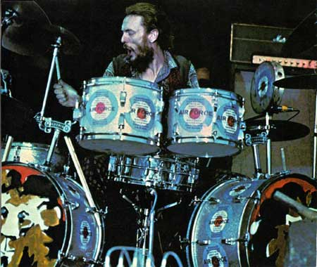 Ginger Baker with Airforce