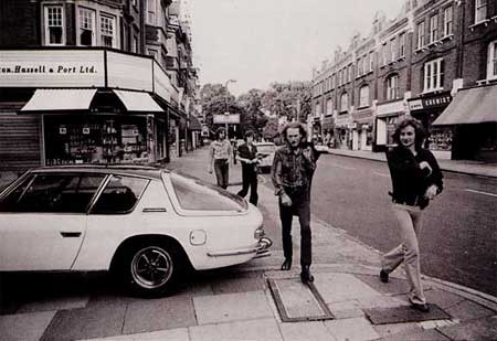 Ginger Baker and Blind Faith in London