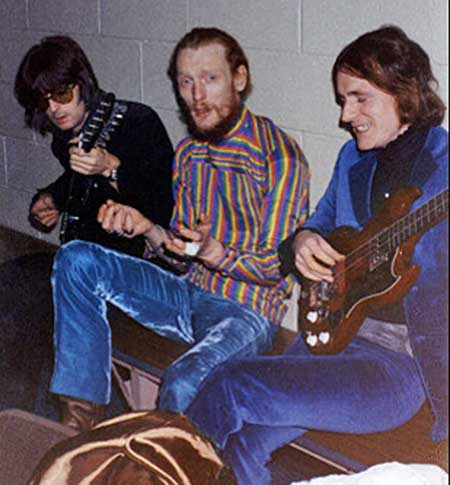 Cream on tour in US