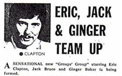 Eric, Jack and Ginger team up