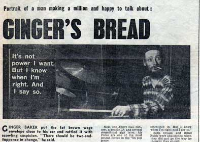 Ginger's Bread 1970
