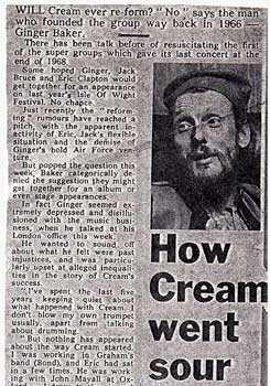 How Cream Went Sour